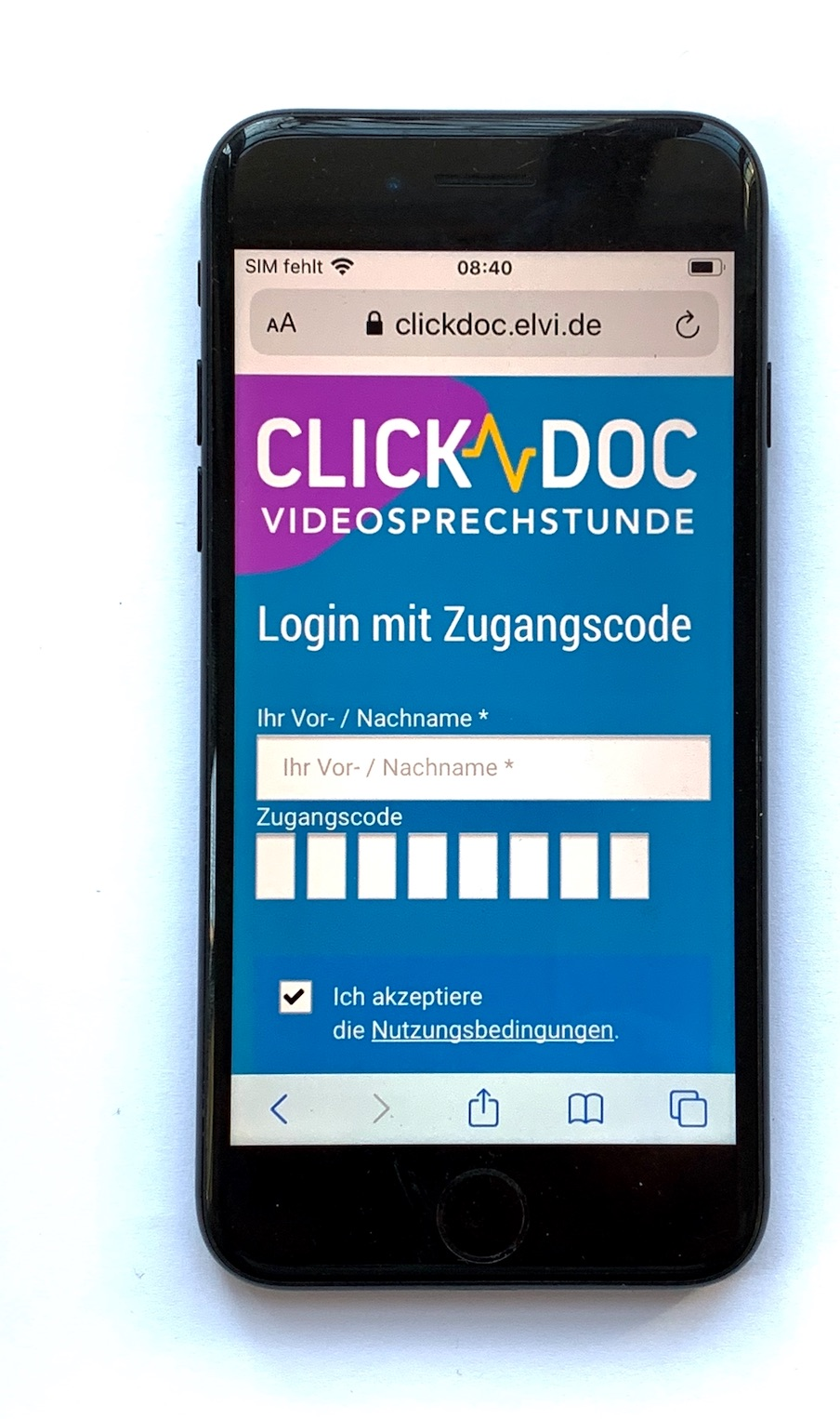 ClickDoc iPhone 8